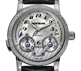 Montblanc watches for men made by Swiss wachmakers