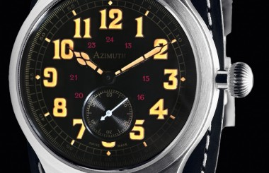Azimuth waches for men