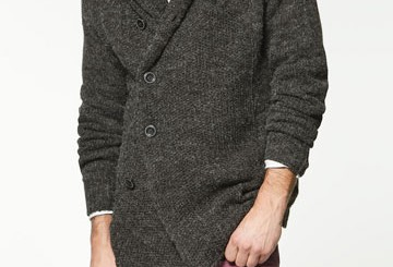 ZARA knitwear for men 2011