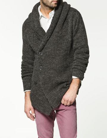 ZARA knitwear for men 2011
