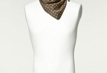 ZARA scarfs for men 2011