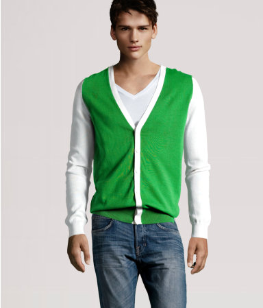H&M Cardigans for men 2011