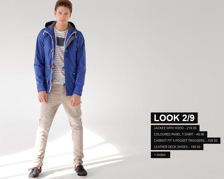 Pull & Bear spring collection for men 2012