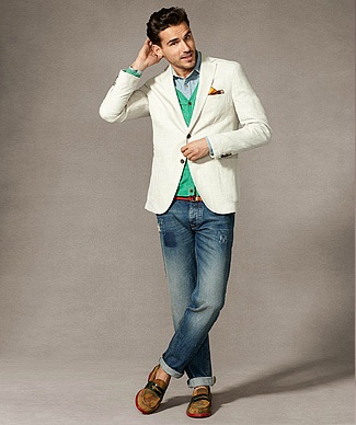 Tommy Hilfiger spring lookbook for men 2012