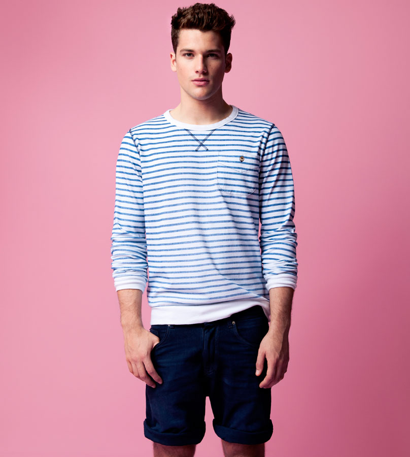 Pull&Bear april lookbook for men 2012