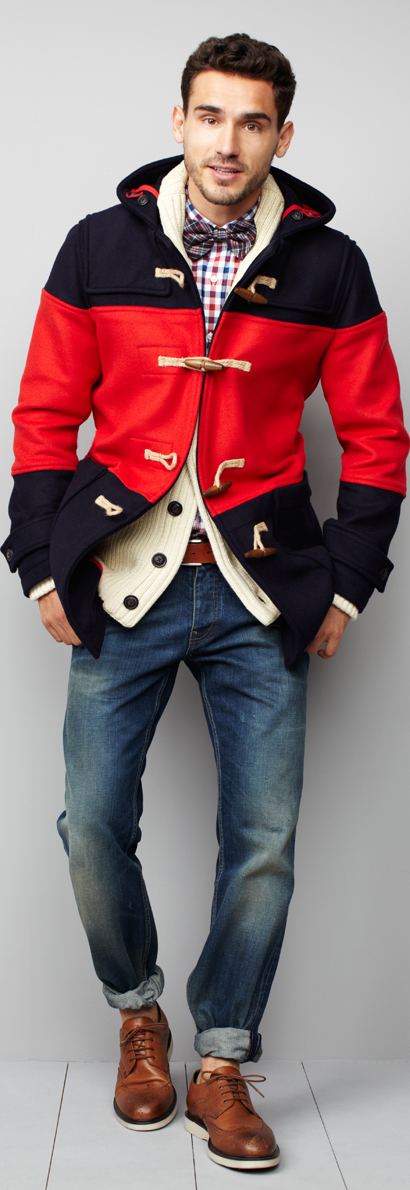 Tommy Hilfiger fall collection for men 2012