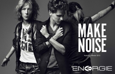 Energie MAKE NOISE A/W collection for men 2012
