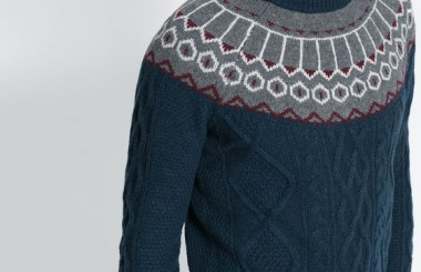 ZARA warm men sweaters 2013 for winter