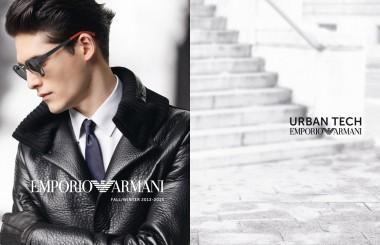 EMPORIO ARMANI Fall lookbook for men 2013