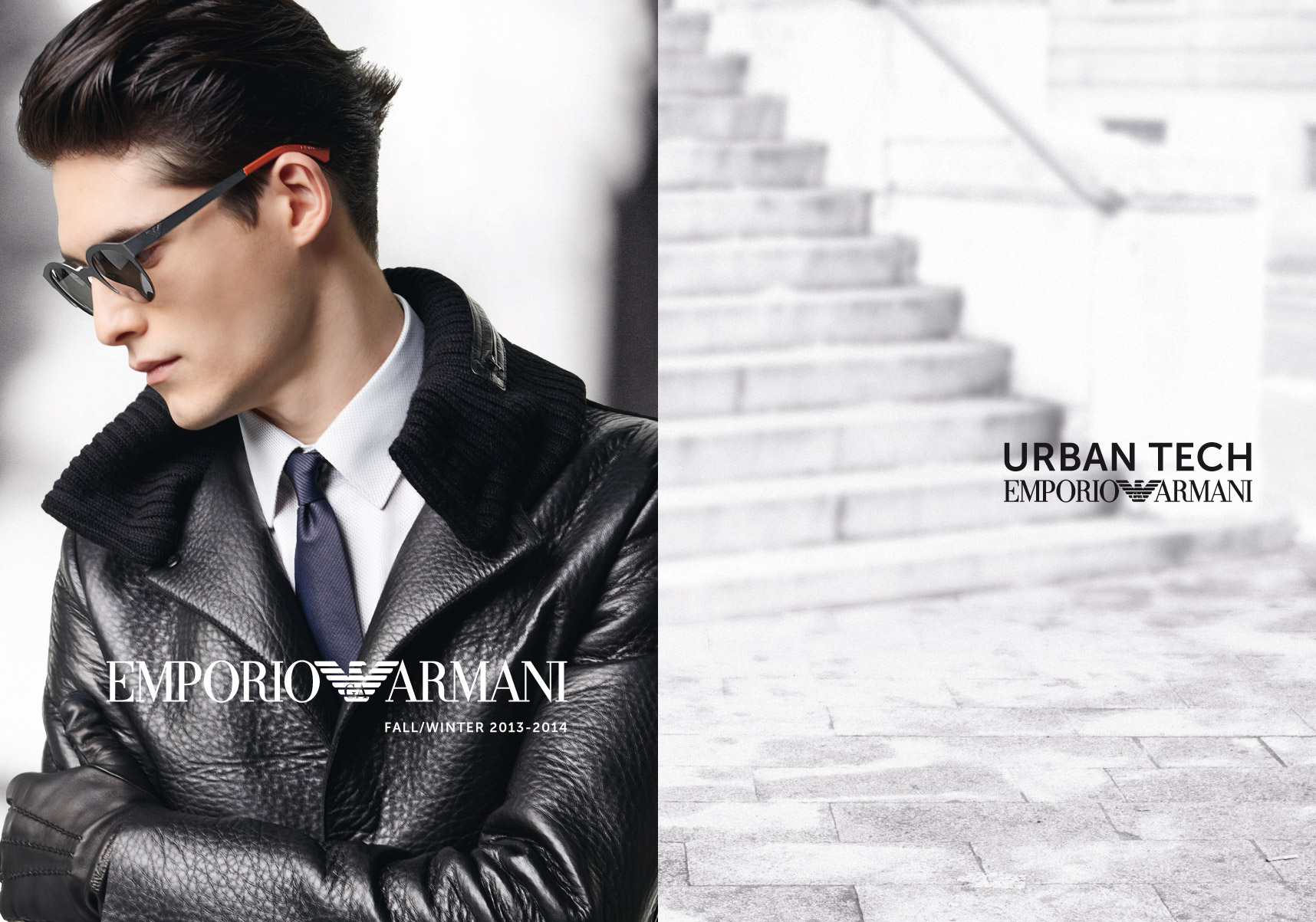 EMPORIO ARMANI Fall lookbook for men 2013